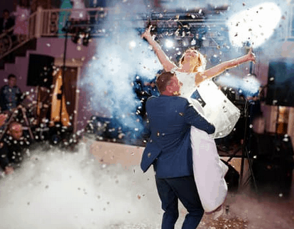 Dancing wedding couple: Get Everyone Dancing At Your Wedding Reception (With 22 Tips How To Boost Your Dance floor!
