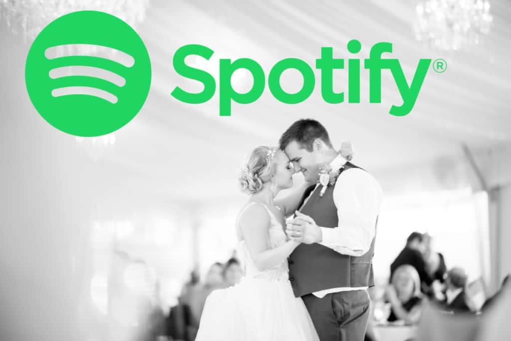 Spotify wedding