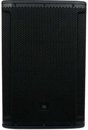 Image of the front of an active speaker