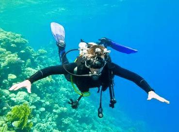 myself diving